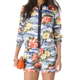 juicy floral print jumper