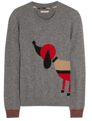 burberry dog sweater