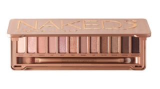 naked eye shadow pallete