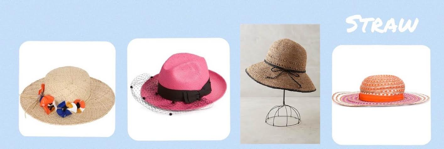 There is not just one type of hat trending for Summer 2016 563b8911c705